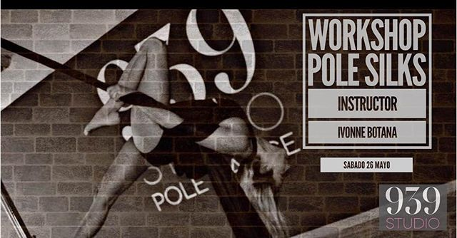 Workshop Pole Silks con Ivonne Botana ,S