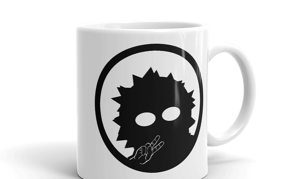 Missing Link Artistry mug -- Logo (Left handed)
