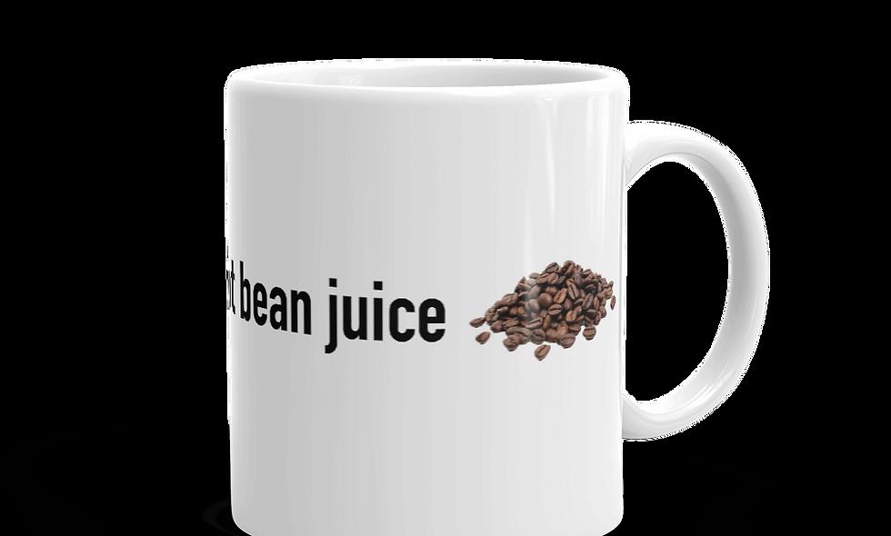 """Hot Bean Juice"" mug (Left-handed)"