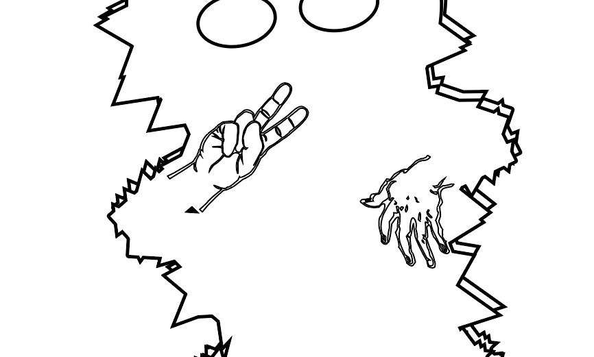 Jim the Sasquatch coloring page