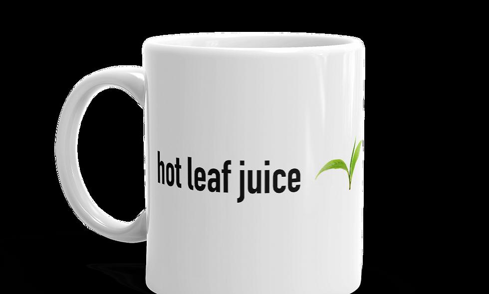 """""""Hot Leaf Juice"""" mug (Right-handed)"""