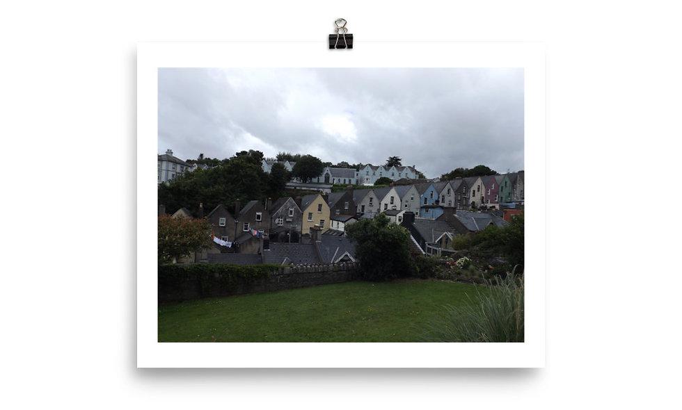 """Houses of Dingle"" photo print"