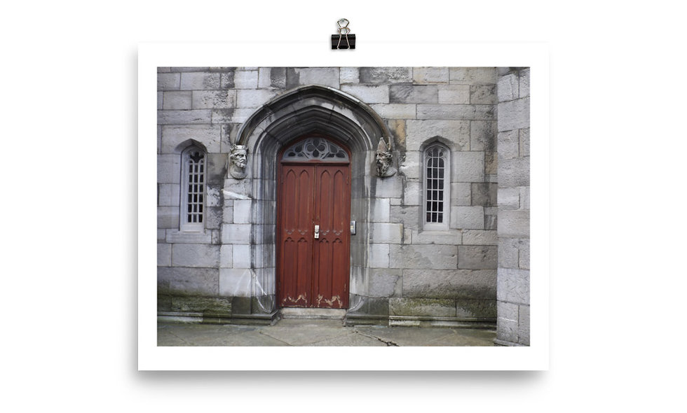 """Dublin Castle door"" photo print"