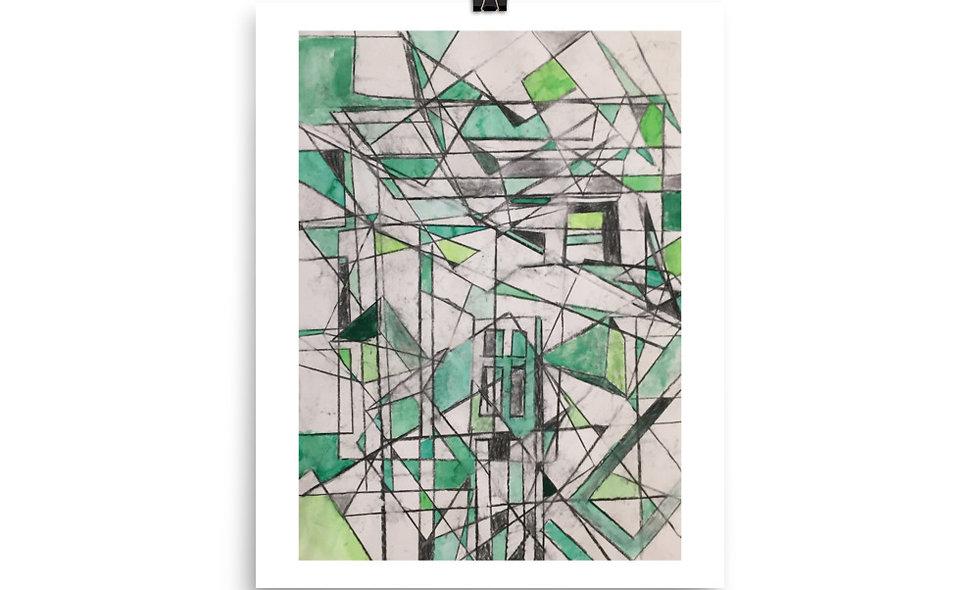 """""""Green Fractals"""" print"""