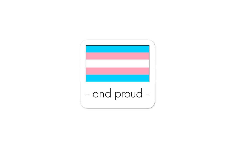 """Transgender Pride Flag"" sticker"