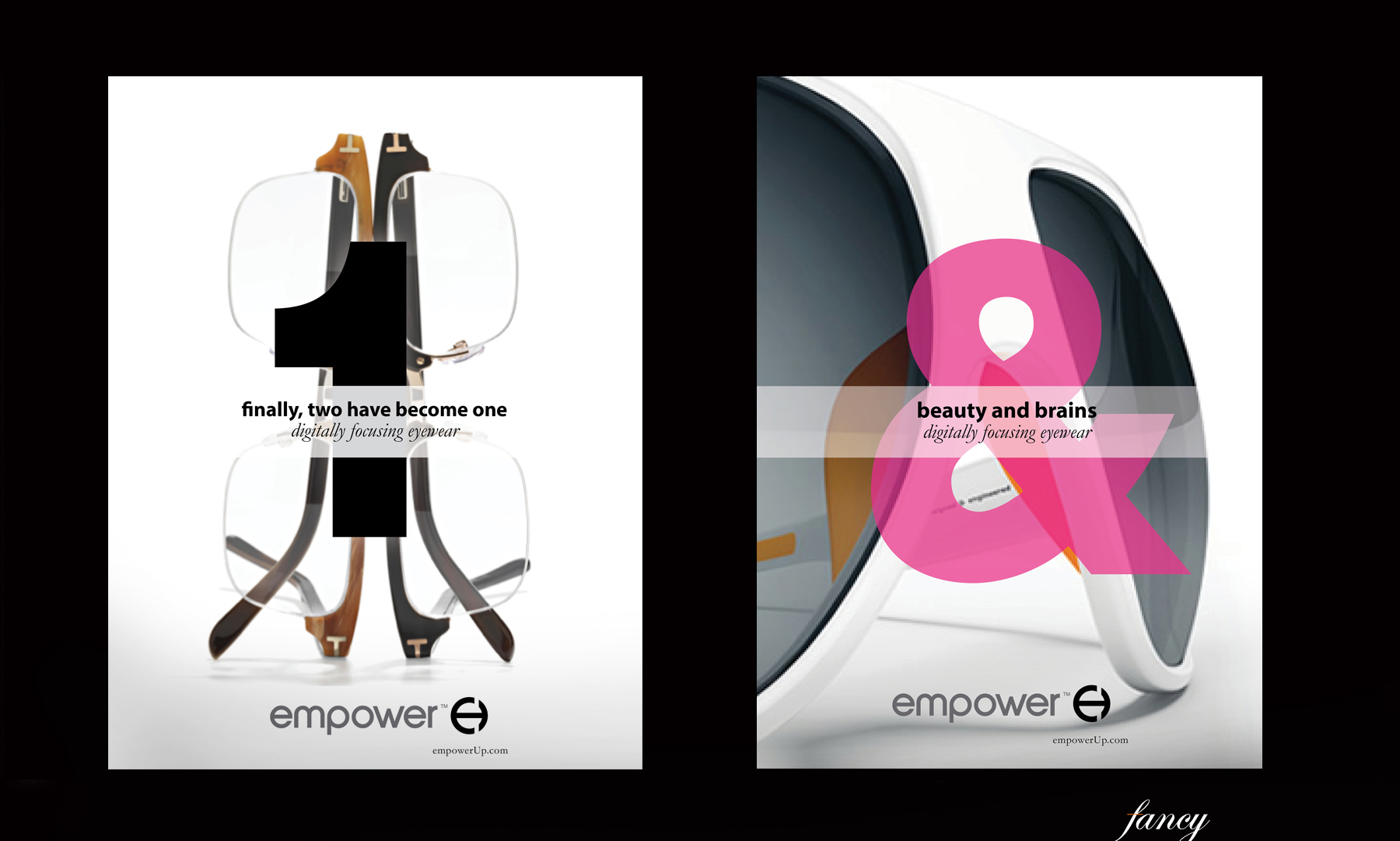 High Tech Eyewear Advertising