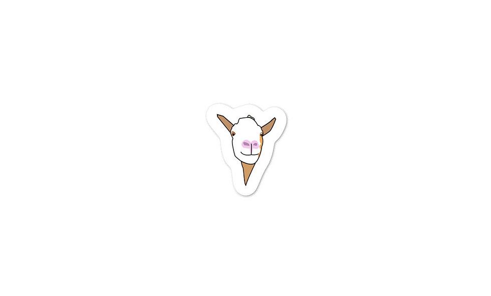 """Darryl the Goat"" sticker"