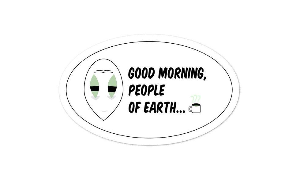 """People of Earth"" sticker"