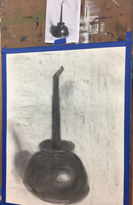Oil Can Drawing