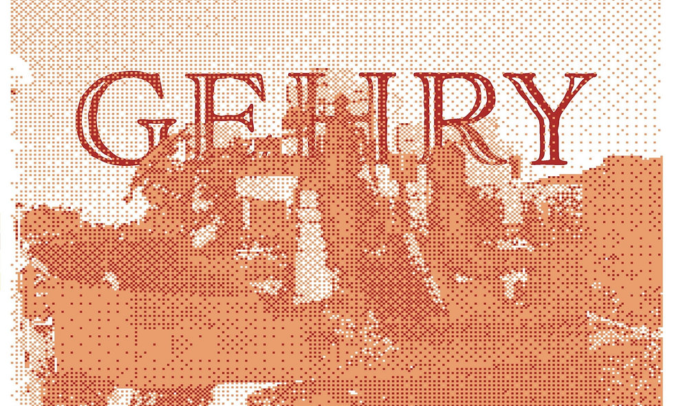 Commemorative Prints: Frank Gehry - Weisman Art Museum