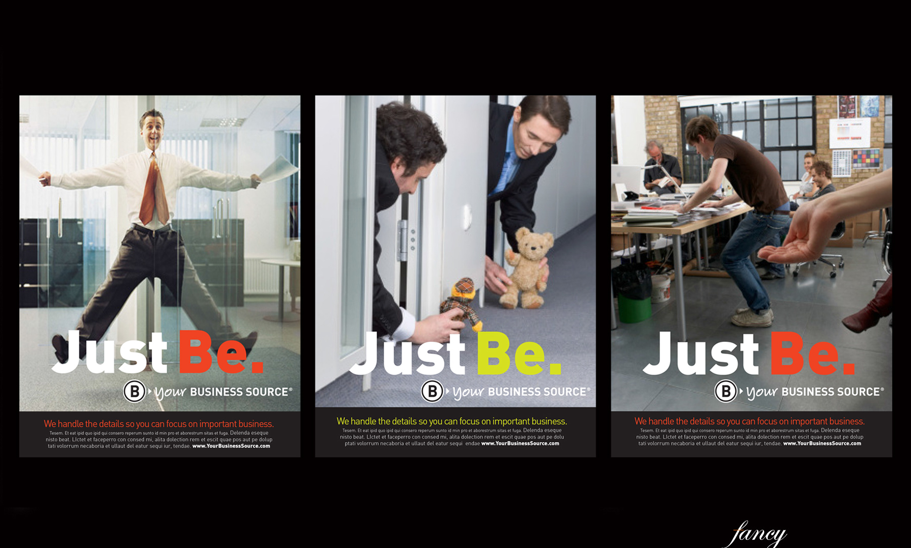 Office Products Ad Campaign