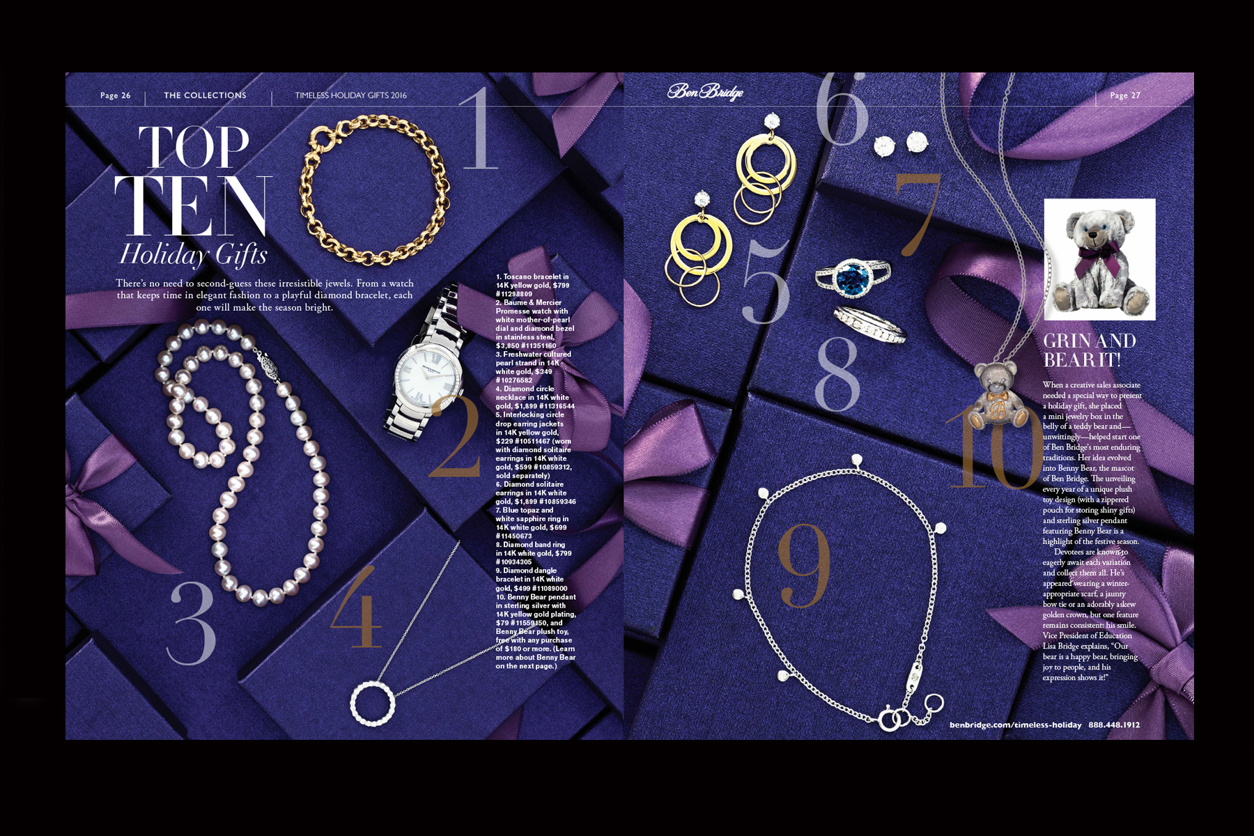 Luxury Jeweler Custom Magazine