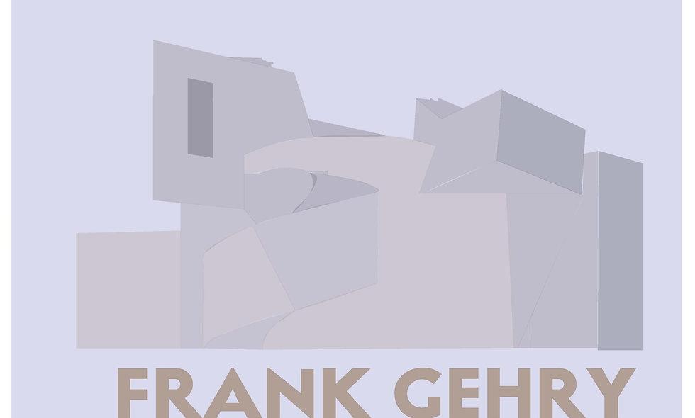 Commemorative Prints: Frank Gehry - Vitra Design Museum