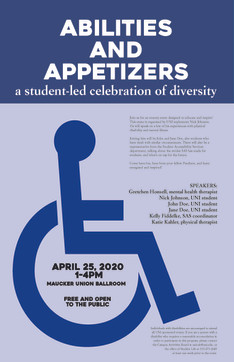 Abilities and Appetizers Poster