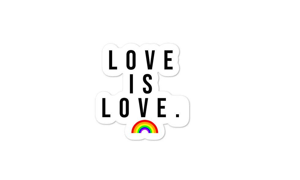 """""""Love is Love"""" sticker"""