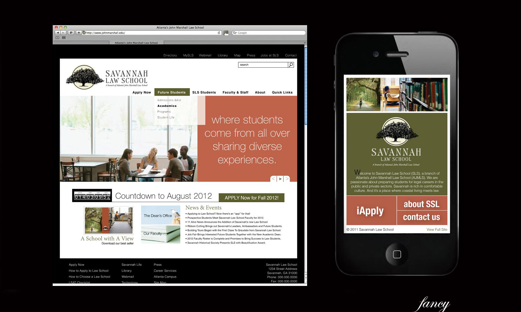 "Website & The First Online ""App"""
