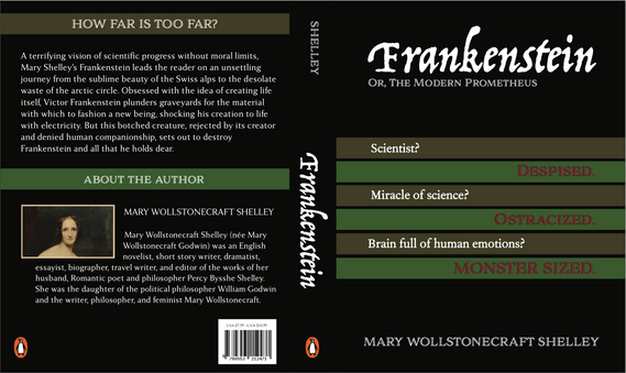"""Frankenstein"" Cover Redesign"