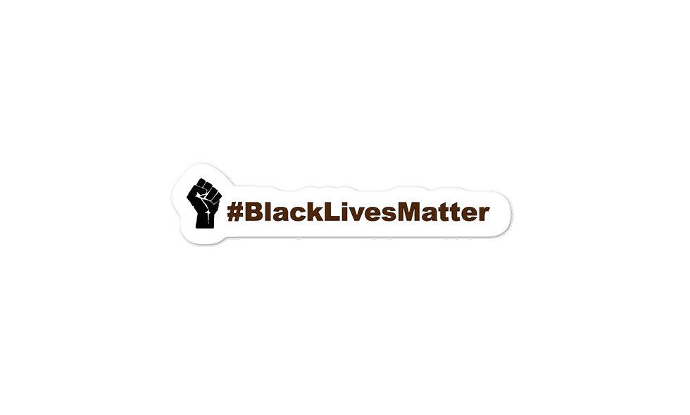 """Black Lives Matter"" sticker"