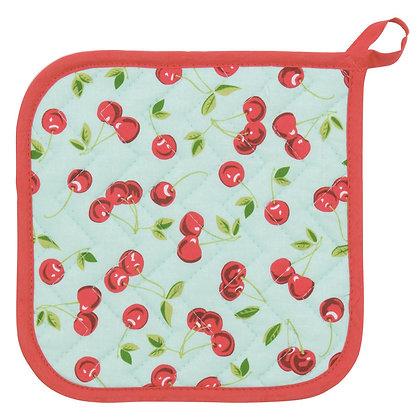 Potholder Cherries