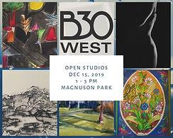 Open studios Dec 15, 2019 1 - 5 pm magnu