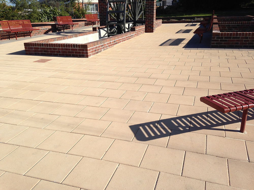 Plaza Stone Pavers from Island Block & Paving