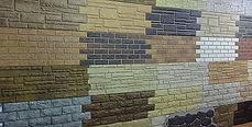 Отделка фасада декоративными панелями, декоративные панели