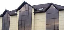 Фасад из керамогранитной плитки