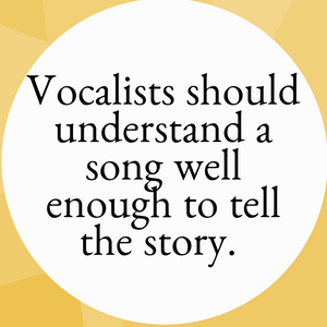 Storytelling for Vocalists