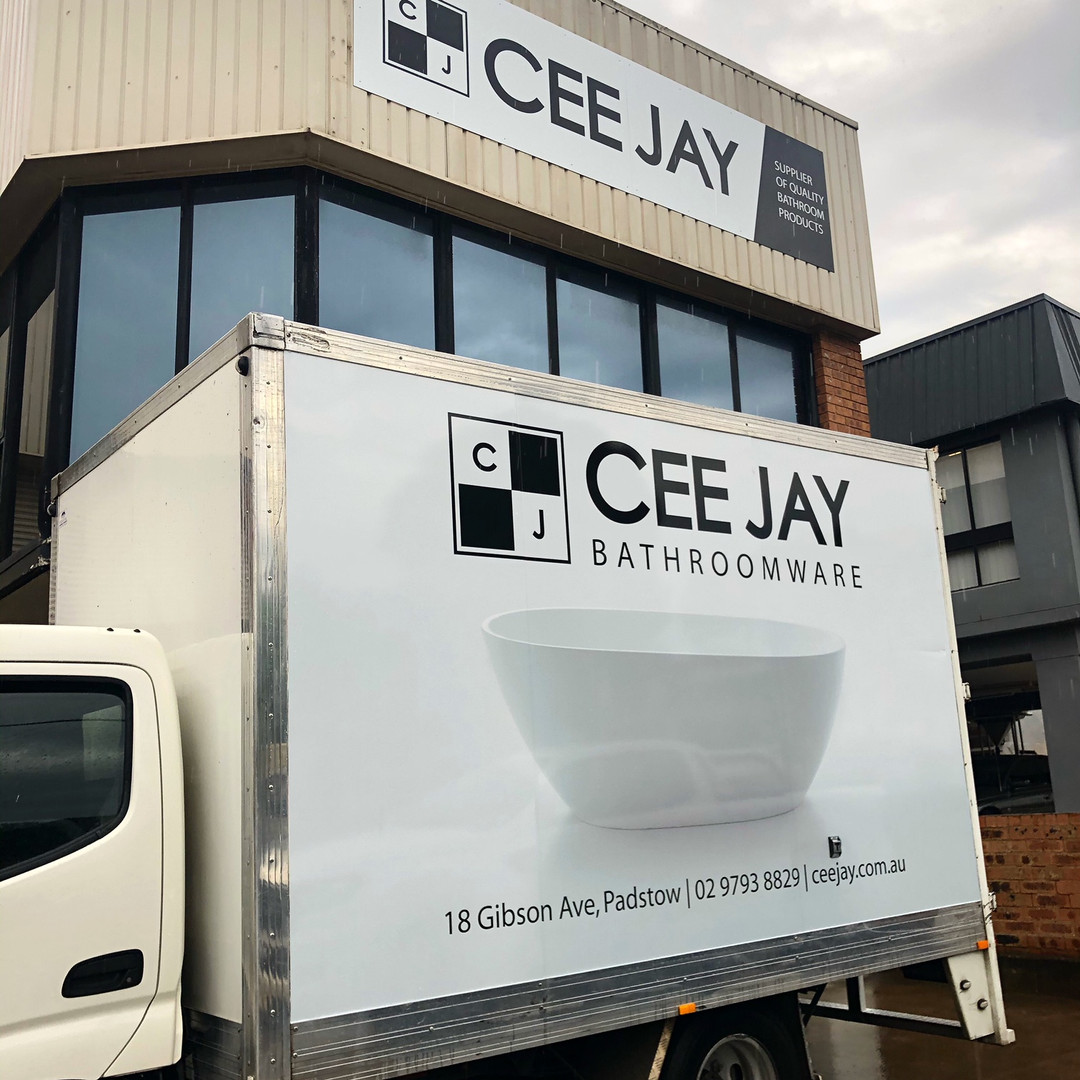 Vehicle & building signage