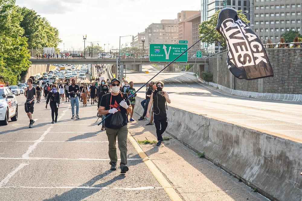 DC Protestors Black Lives Matter
