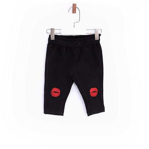 Black Jersey Leggings-17FW0BG2202