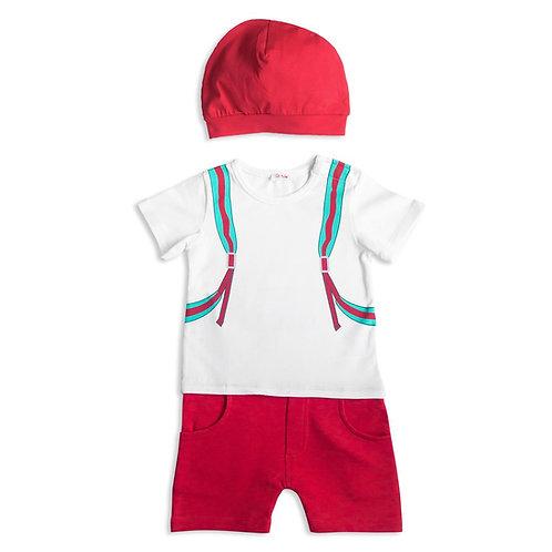 Backpack Printed Babysuit - 3434BBG1806