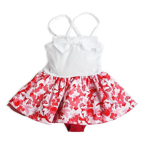 Baby Girl Dress with Bodysuit - 3434BBG2805