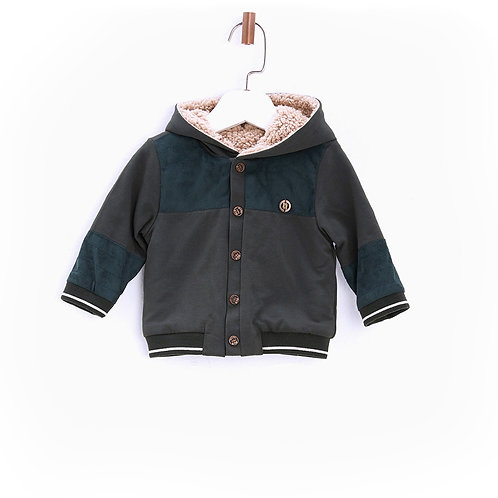 Green Babyboys Coat-17FW0BG1412