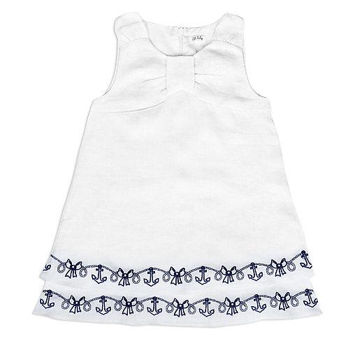 Elegant White Baby Girl Dress - 3434BBG2905
