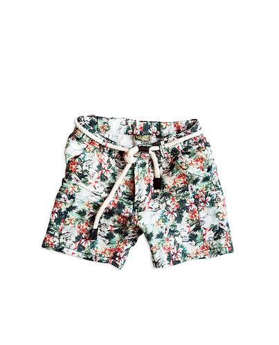 Linen Baby Boy Shorts - 3434BBG1114