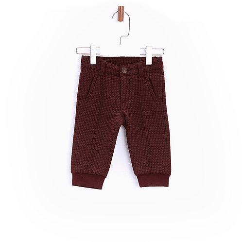 Burgundy Babyboy Trousers-17FW0BG1224
