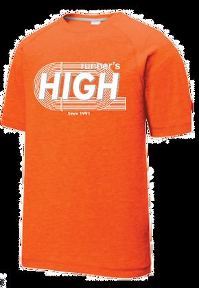 Runners High Track T Shirt (Short Sleeve)