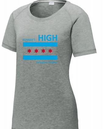 Chicago Flag Short Sleeve (WMN)