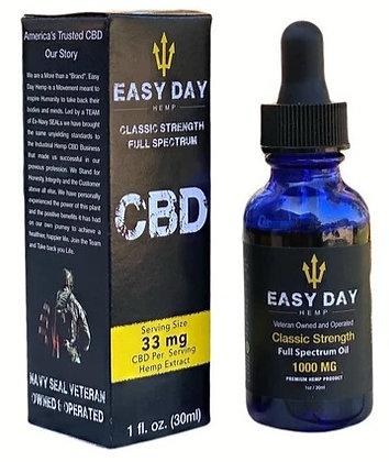 Easy Day Hemp 1000 MG | Full Spectrum | 0.3% THC