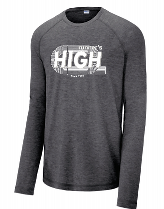 Runners High Track T Shirt (Long Sleeve)