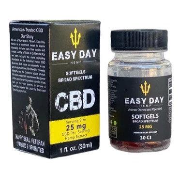 Easy Day Hemp Broad Spectrum Soft Gel Pill