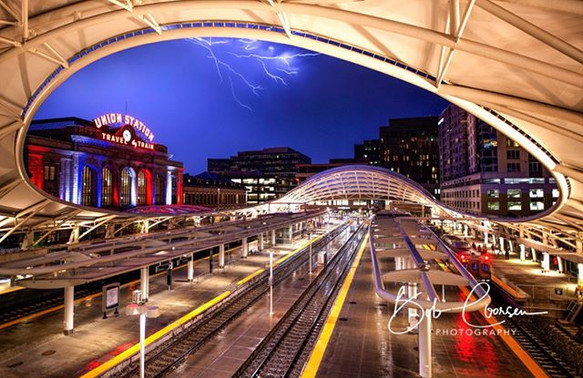 Storm Brewing at Union Station- I took t