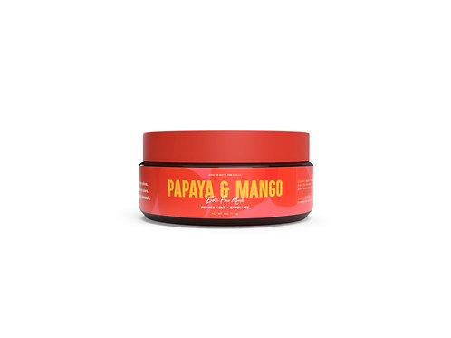Papaya Mango Exfoliating Mask