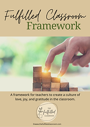 Fulfilled Classroom Framework (GOALS) co