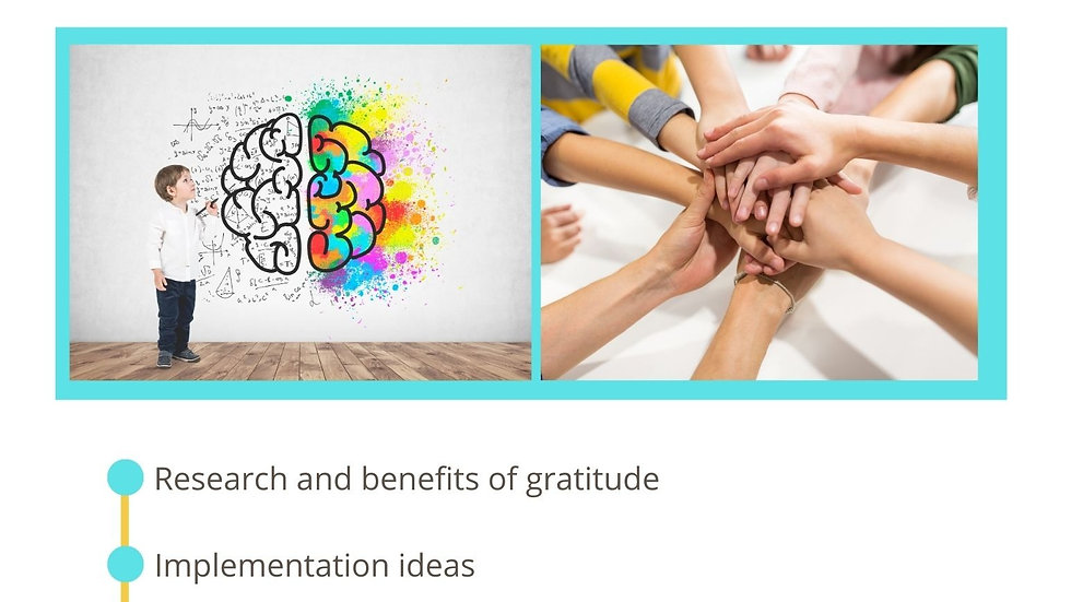 eBook: Implementing Gratitude in the Classroom