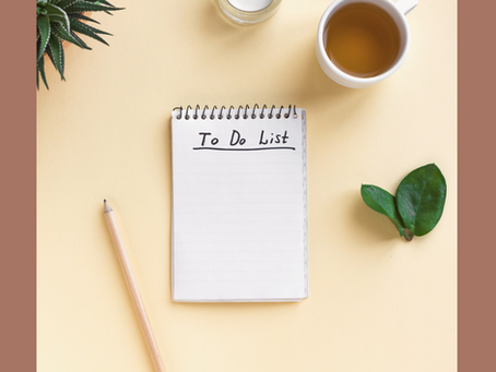 Let's talk about to-do lists