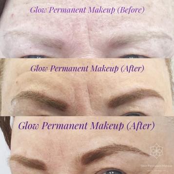 glow permanent makeup resultspermanent makeup eyebrow