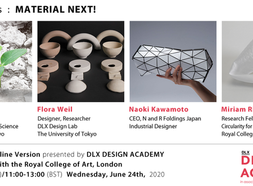 MATERIAL NEXT! - Online Inspire Talks on June 24th