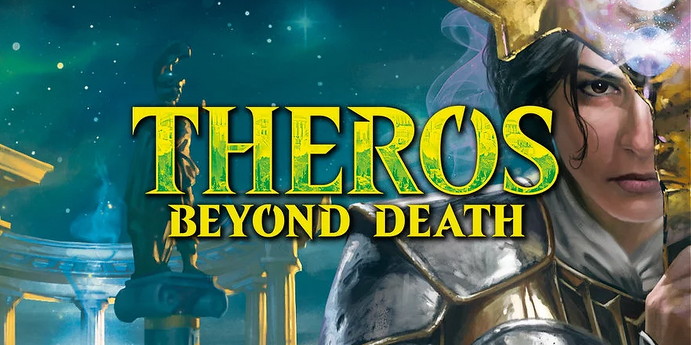 MtG: Pre-Release Sealed Draft of Theros Beyond Death